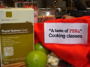 """Learn more about Quinoa at """"A taste of PERú"""" - Cooking classes"""