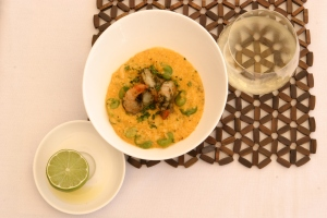 Click on the link to see chef Alejandro Saravia presenting his Pumpkin and Quinoa Risotto at the Kerri Anne Show